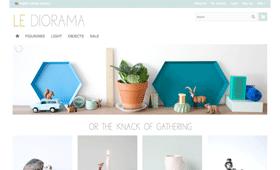 Le Diorama | design